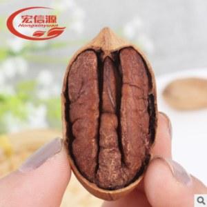 厂家直销碧根果200g坚果炒货开口长寿果休闲零食年货批发招代理